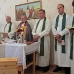 Segezan seurakunnan tilat vihittiin