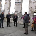 Karjalan rovastikunta kokoontui Ruskealan kirkon raunioille