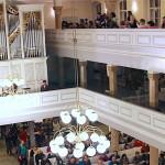Museoiden yö menestys Pyhän Marian kirkossa