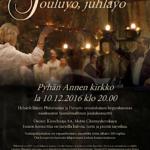 Joulukonsertti Pyhässa Annassa