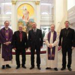 Korkea-arvoinen vieras Marian kirkossa