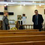 Sisäministeri Saratovin seurakunnassa