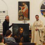 Taidenäyttely Pietarin Pyhän Annan kirkossa