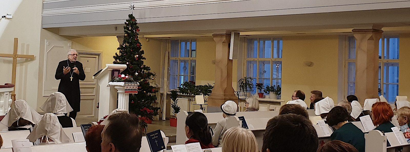 Joulujuhla Pyhän Marian kirkossa