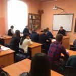 Vierailulla Pihkovan valtiollisen yliopiston teologian laitoksella