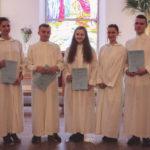 Inkerin kirkossa viisi uutta lapsi- ja nuorisotyöntekijää
