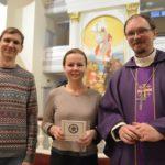 Levynjulkaisu Pietarin Pyhän Marian kirkossa