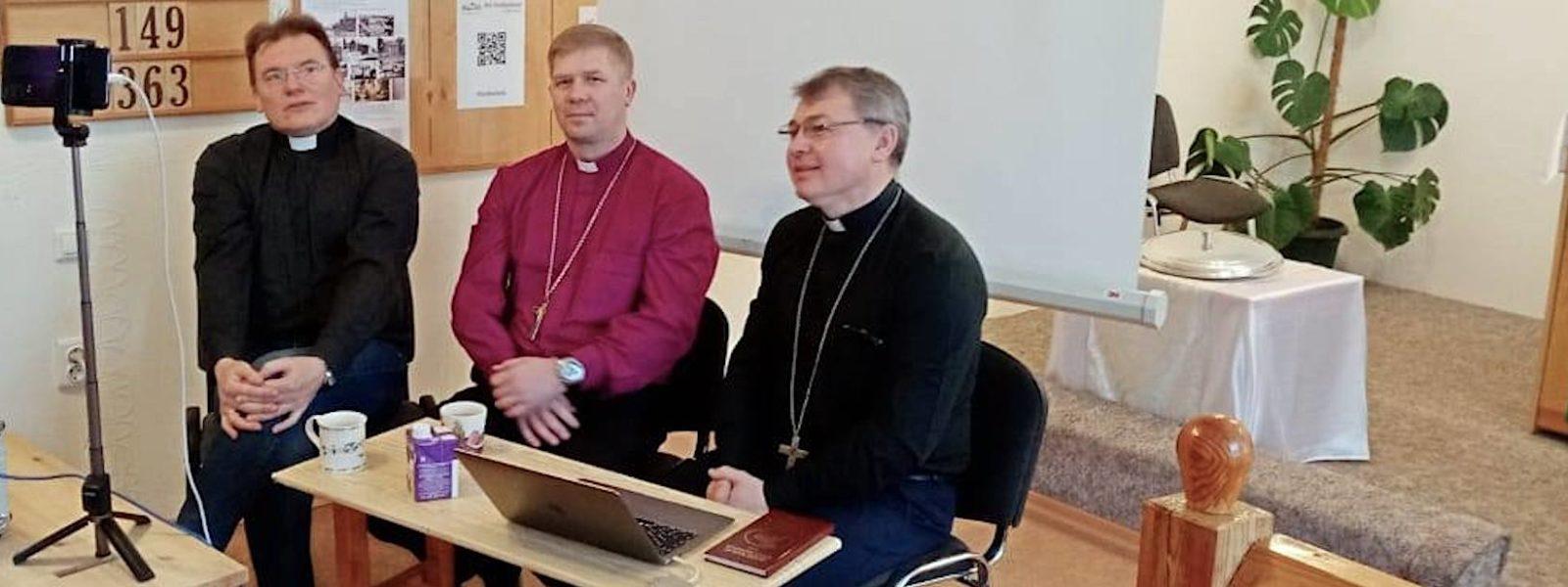 Rovastikuntakokouksia Inkerin kirkossa